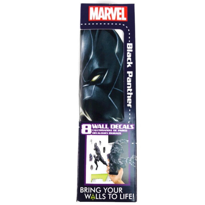 Marvel Black Panther Augmented Reality 8 ct. Wall Decal Removable & Repositionalble Stickers
