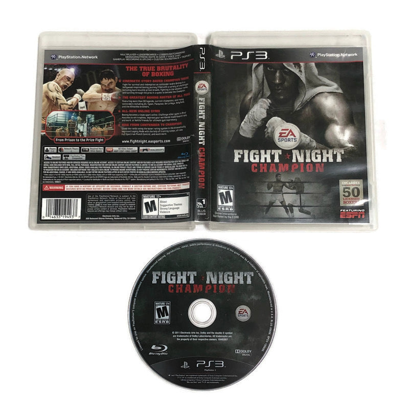 Fight Night Champion Sony Playstation 3 PS3