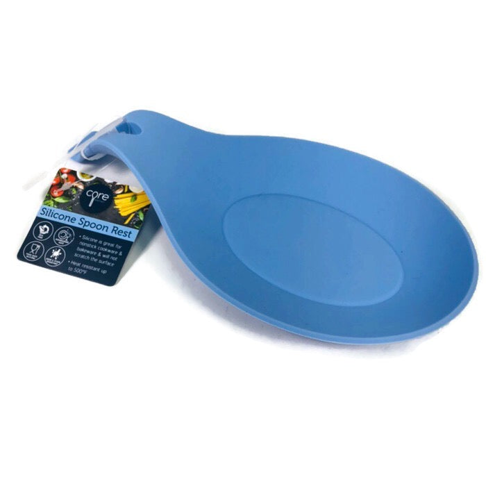 Core Kitchen Silicone Sky Blue Spoon Rest