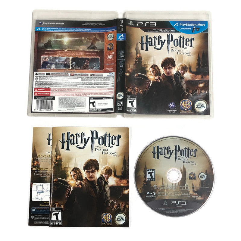 Harry Potter And The Deathly Hallows Part 2 Sony Playstation 3 PS3