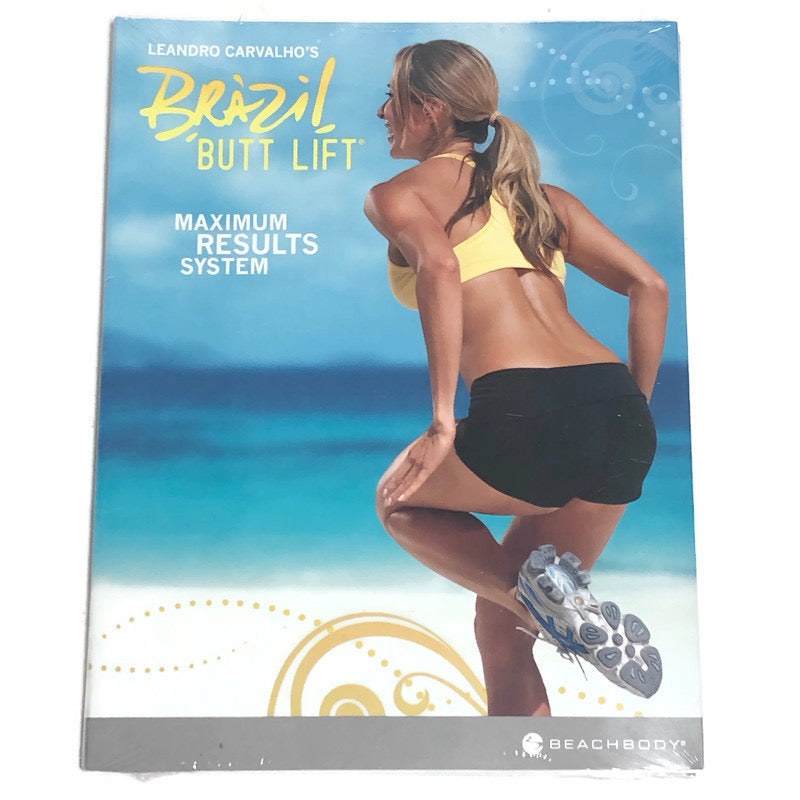 Beachbody Leandro Carvalhos Brazilian Butt Lift Workout Exercise 2 DVD Set