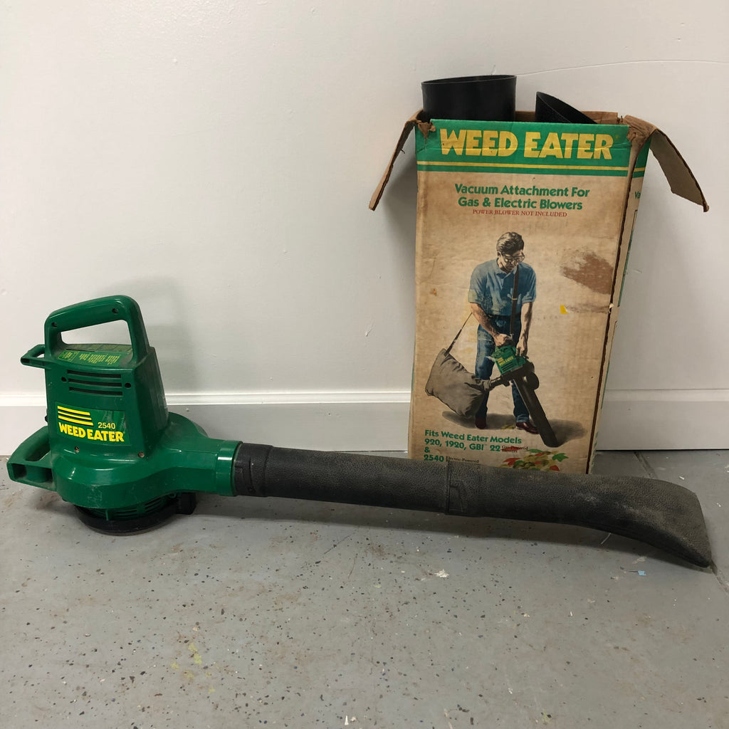 Weed Eater 2540 Electric Power Lawn Yard Blower Vacuum