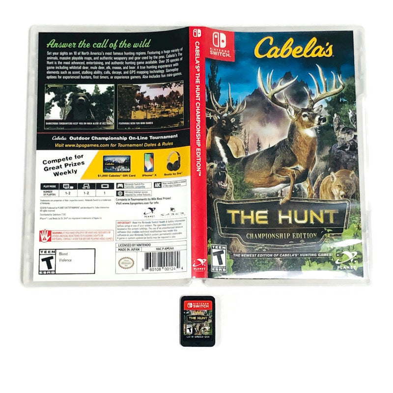 Cabelas The Hunt Championship Edition Nintendo Switch