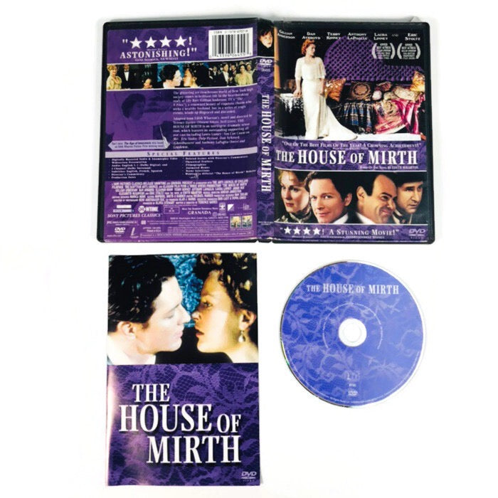 The House Of Mirth DVD