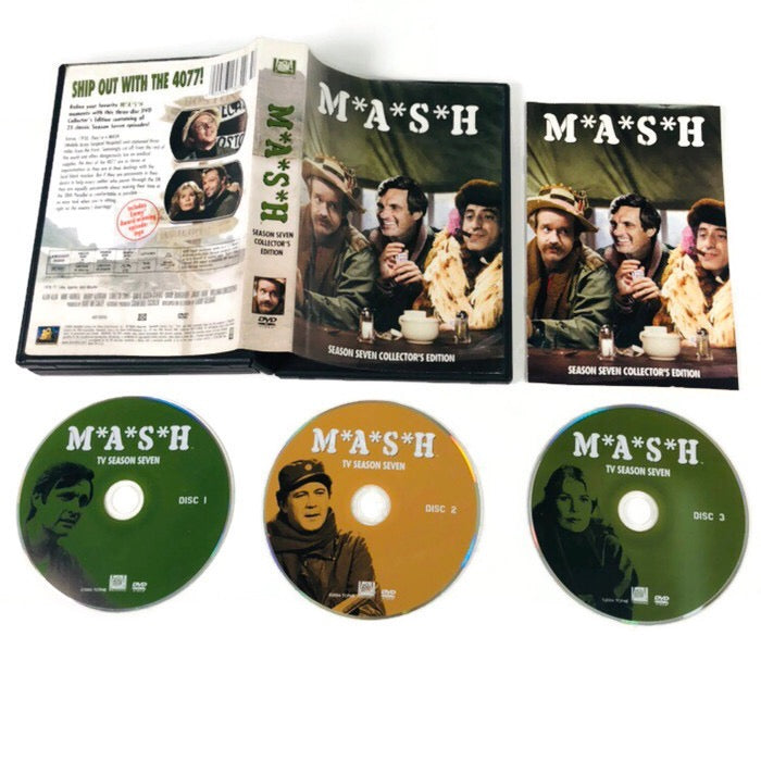 MASH Season Seven Collectors Edition DVD