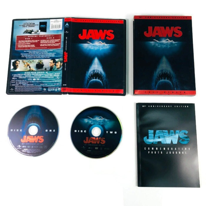 Jaws 30th Anniversary Edition Full Screen DVD