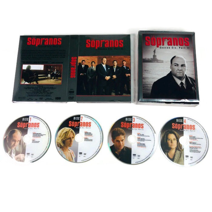 The Sopranos Season Six Part II DVD