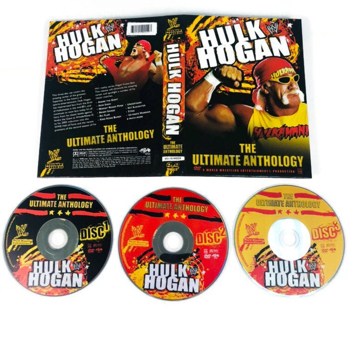 WWE Hulk Hogan The Ultimate Anthology DVD