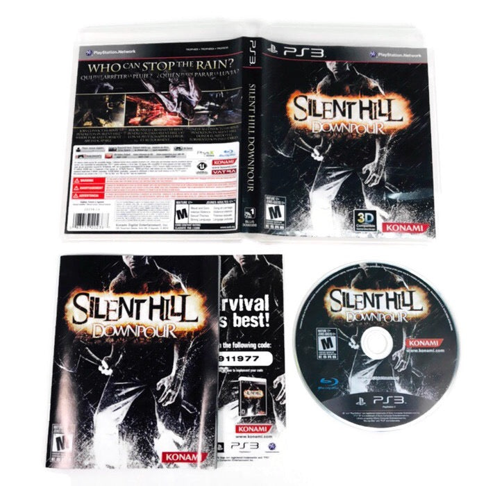 Silent Hill Downpour Sony Playstation 3 PS3