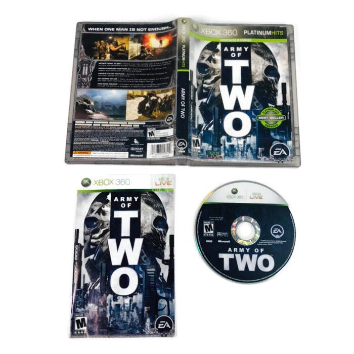 Army Of Two Platinum Hits Microsoft Xbox 360