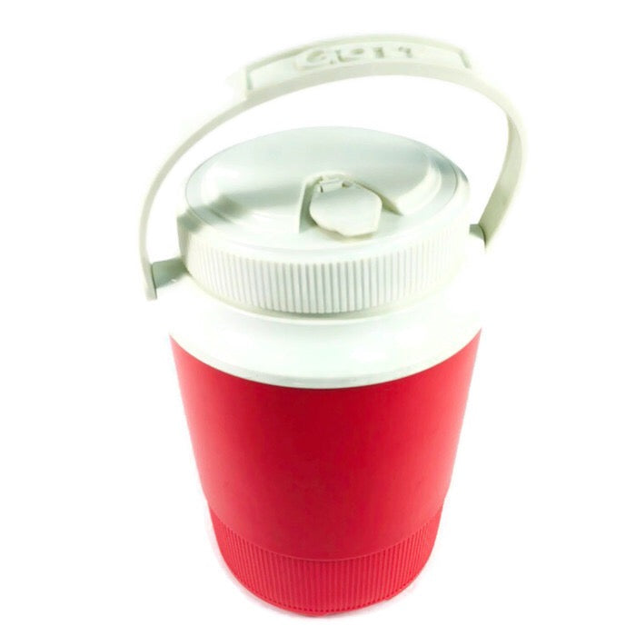 Gott Red Insulated Thermos 1/2 Gallon Cooler Jug 1502
