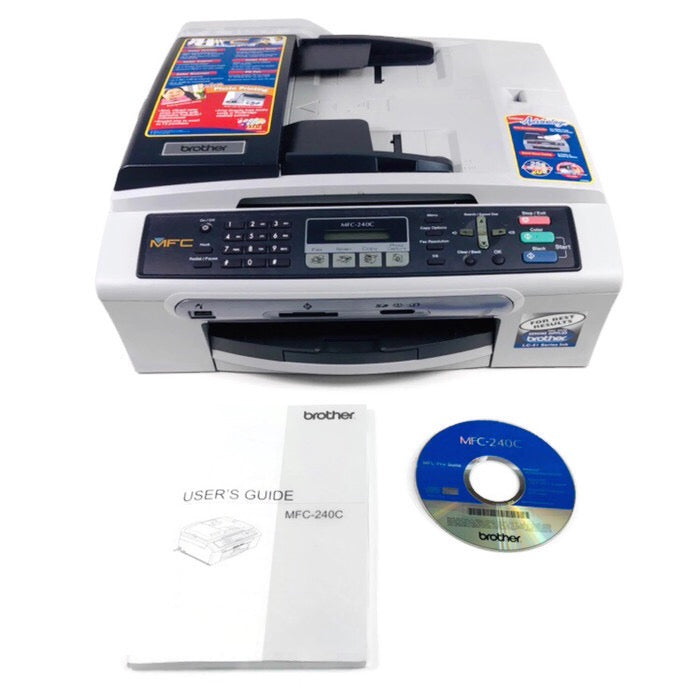 Brother MFC 240C All In One Inkjet Printer Scanner Fax Machine