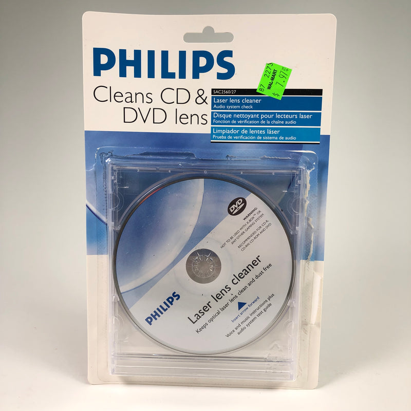 Philips CD DVD Laser Lens Cleaner