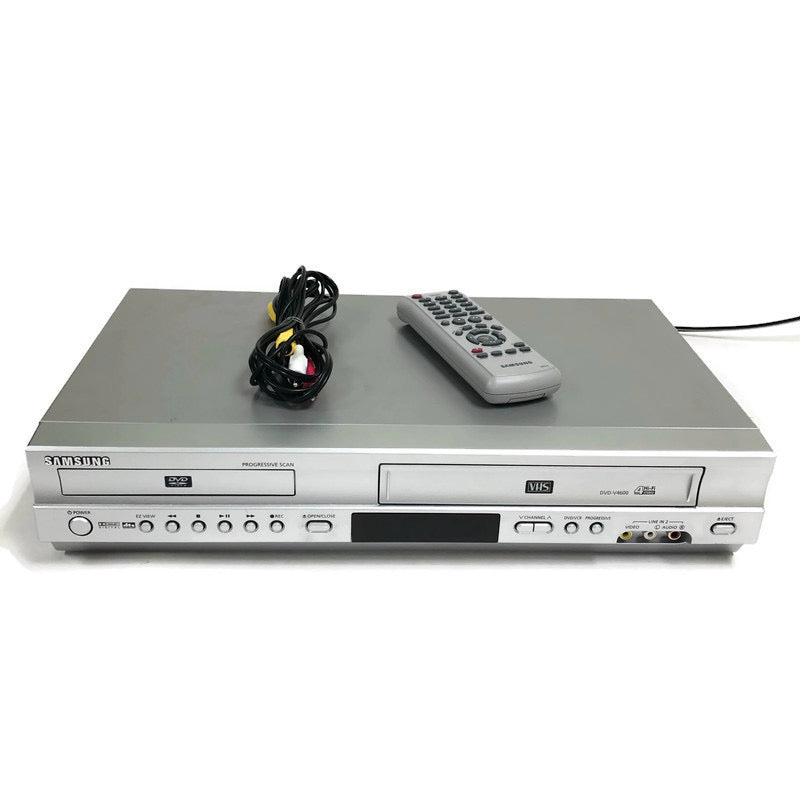 Samsung DVD VCR Combo Recorder VHS Player DVD-V4600A w/ Remote