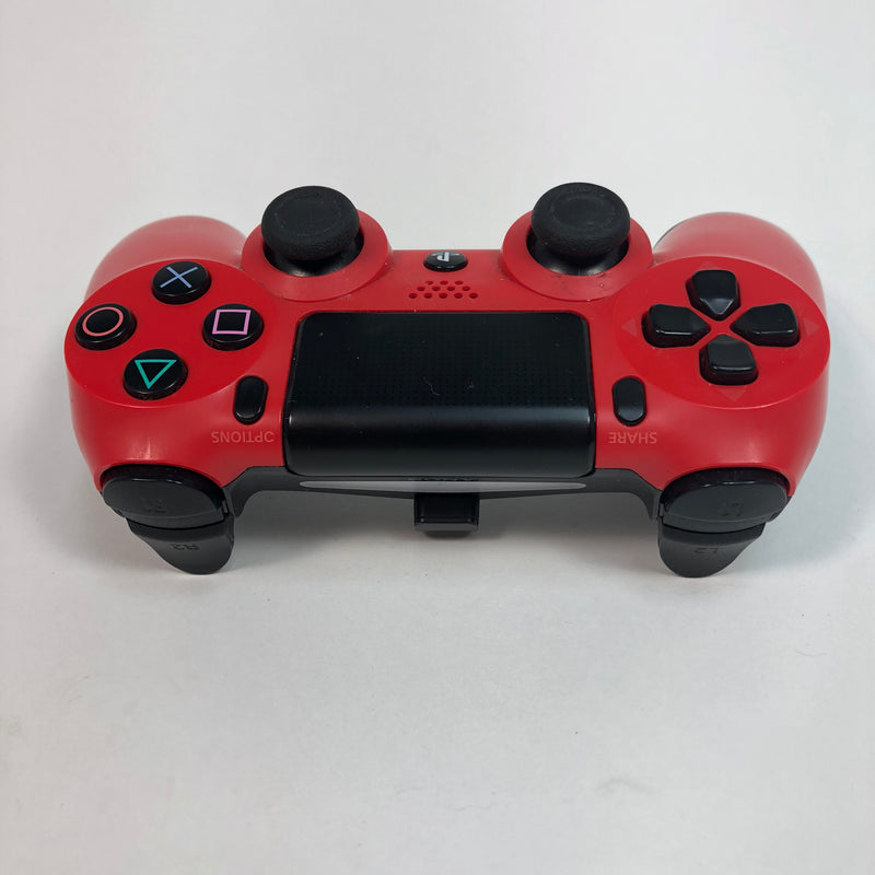 Playstation 4 PS4 Magma Red DeaulShock 4 Wireless Controller CUH-ZCT1U