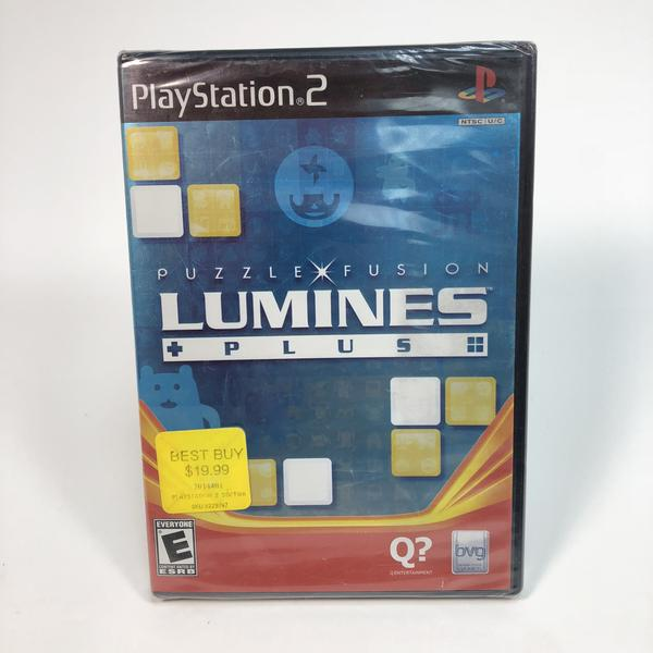 Lumines Plus Sony Playstation 2 PS2