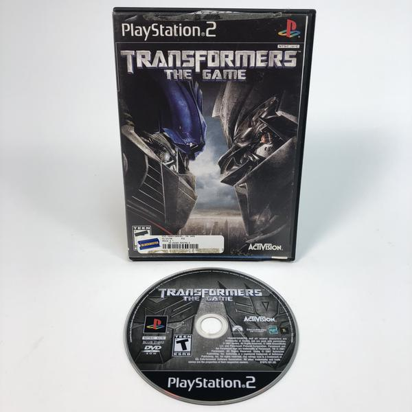 Transformers The Game Sony Playstation 2 PS2