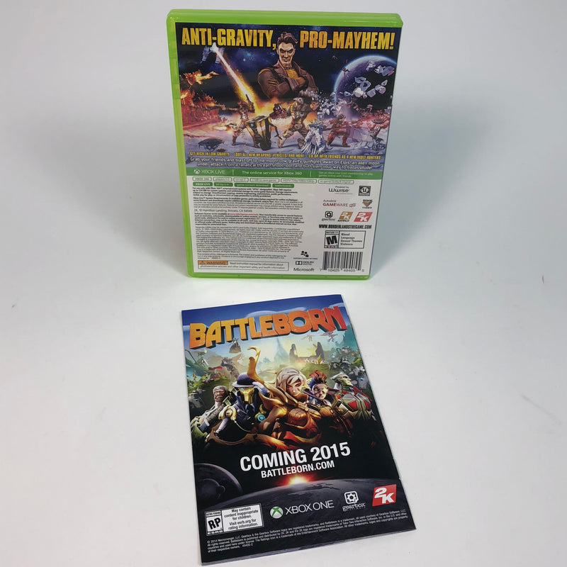 Borderlands The Pre-Sequel Microsoft Xbox 360 Complete