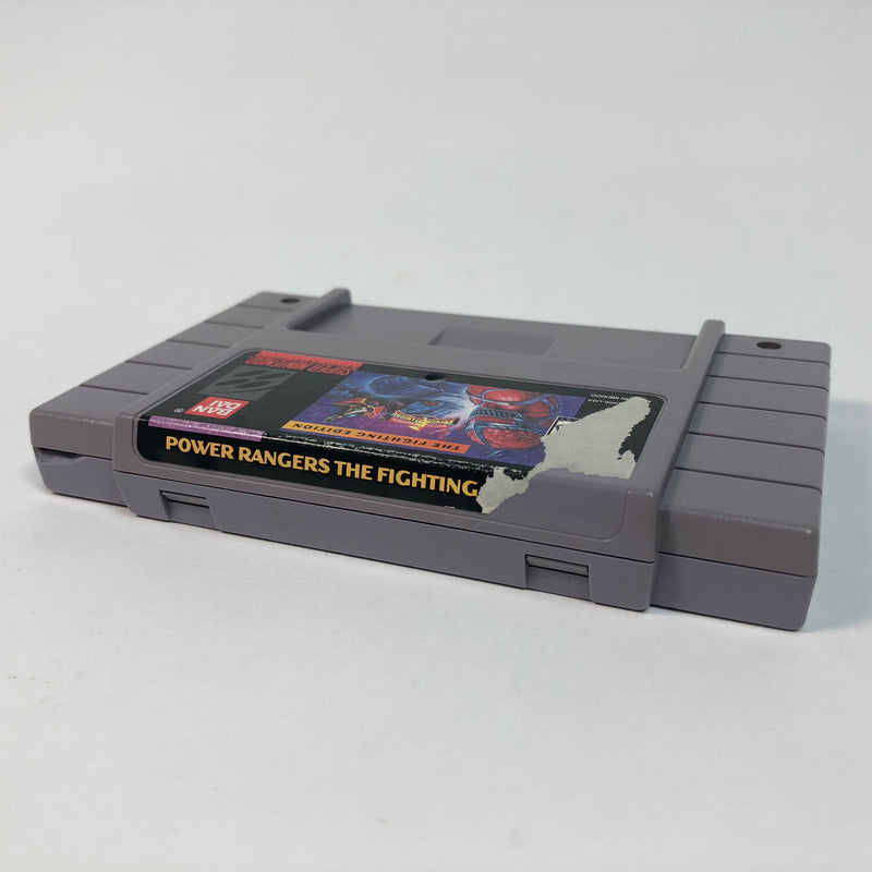 Power Rangers The Fighting Edition Super Nintendo SNES
