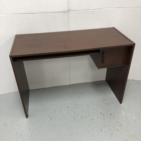 "Ameriwood 41"" Desk w/ Door Storage & Keyboard Tray"