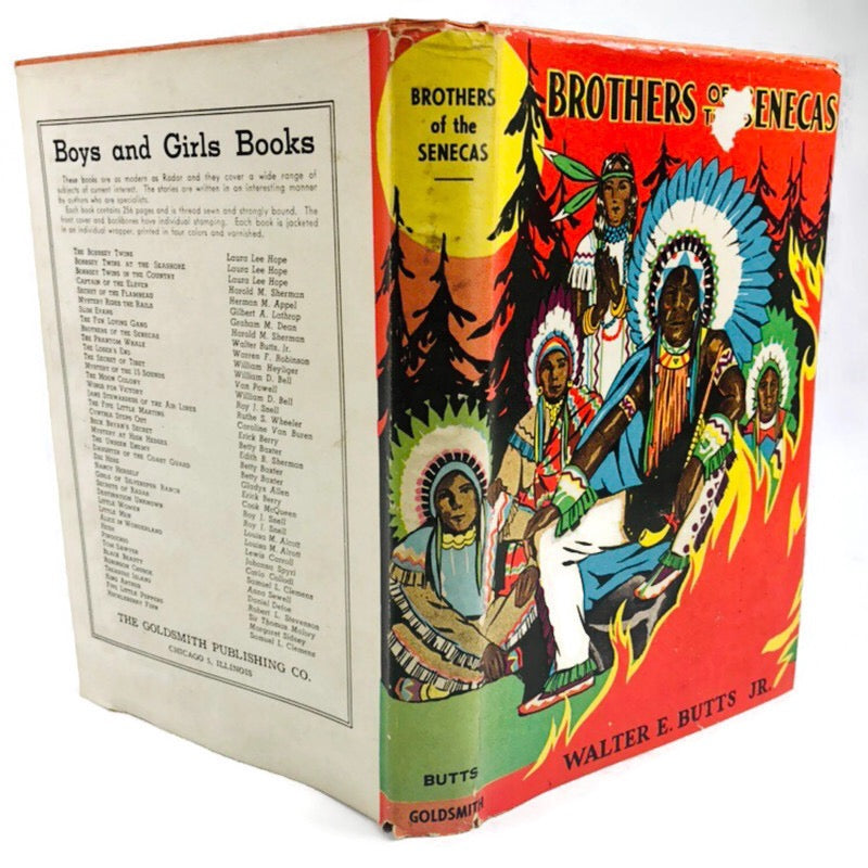 Brothers Of The Senecas Walter E. Butts Jr. Book