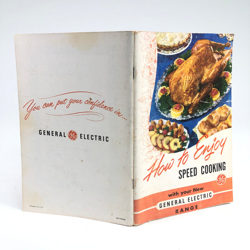 General Electric GE How To Enjoy Speed Cooking Recipe Manual Book