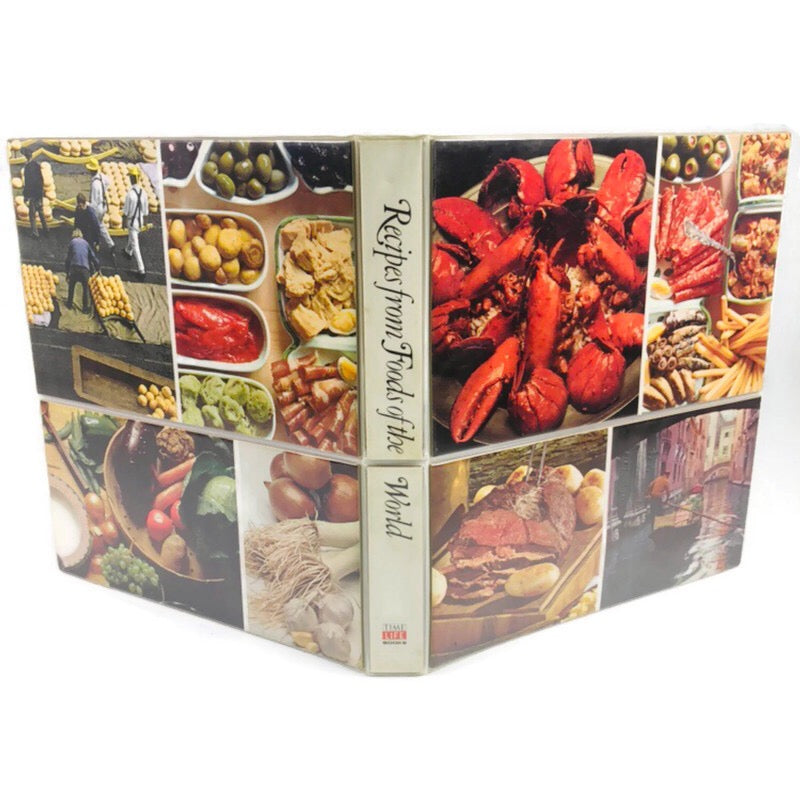 Time Life Recipes From Foods Of The World 3 Ring Binder Cook Book