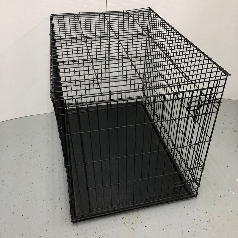 "42"" Metal Dog Crate Cage"