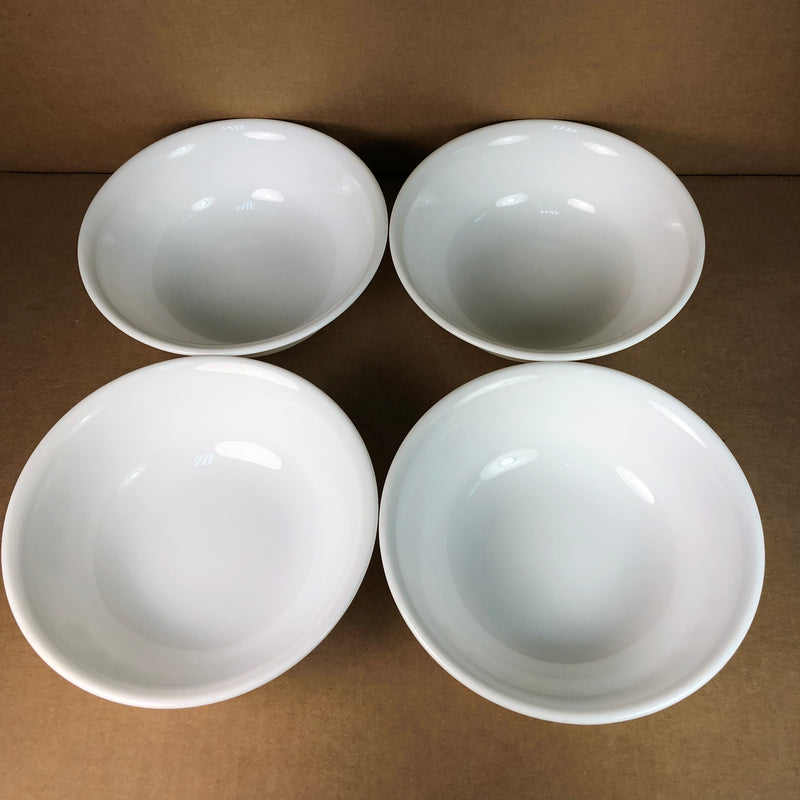 "(4) Corelle Gold Flower Butterfly Soup Cereal 6 1/4"" Bowl Set"