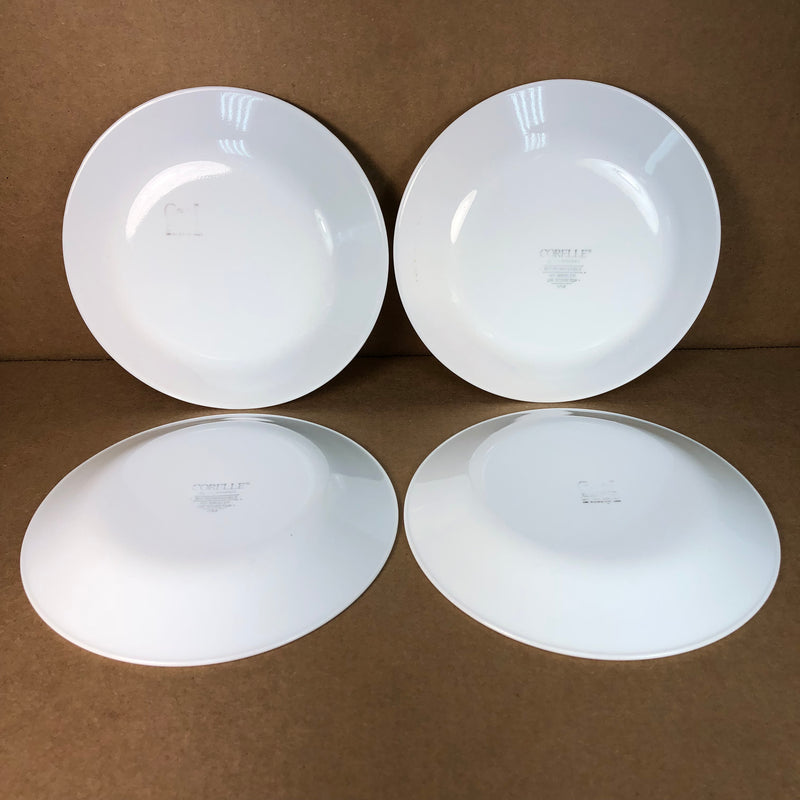 "(4) Corelle Gold Flower Butterly Dessert Bread 6 3/4"" Plate Set"