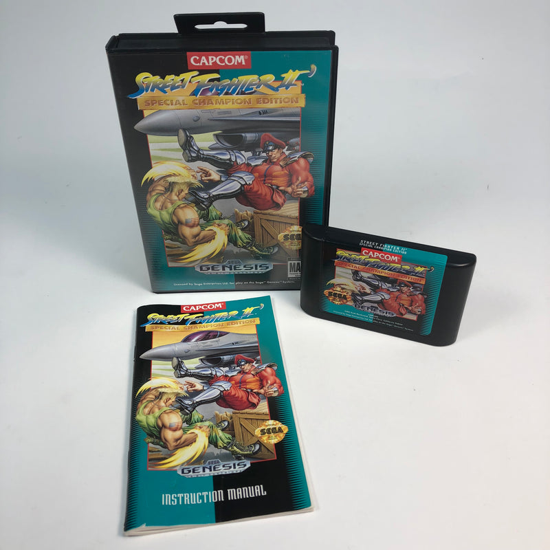 Street Fighter II Special Champion Edition Sega Genesis