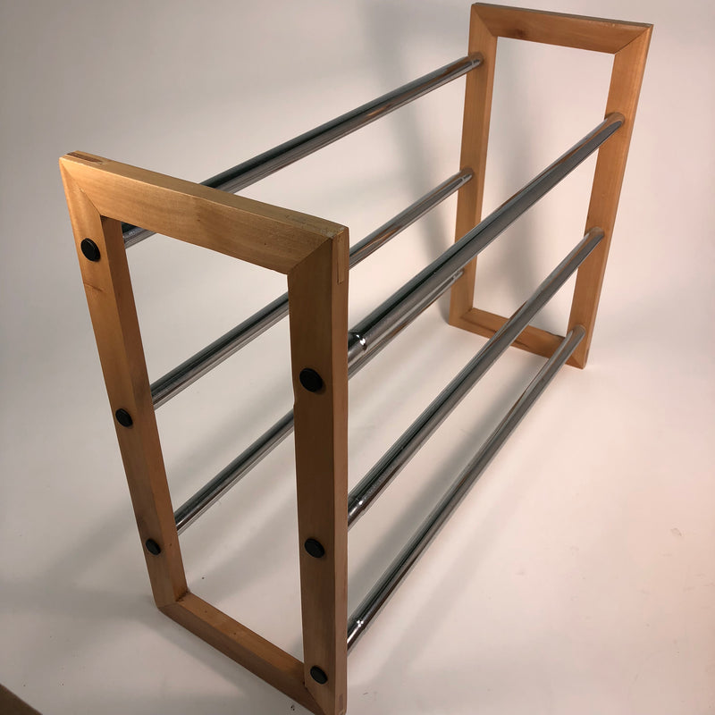 "25-46"" Expandable Shoe Rack"