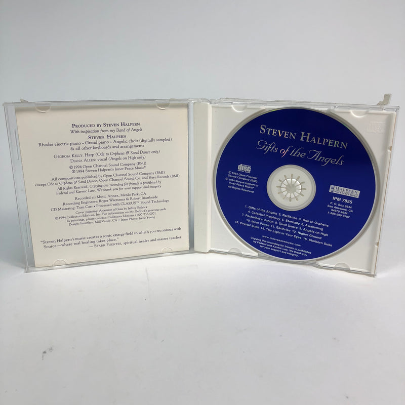 Gifts Of The Angels Steven Halpern CD Complete