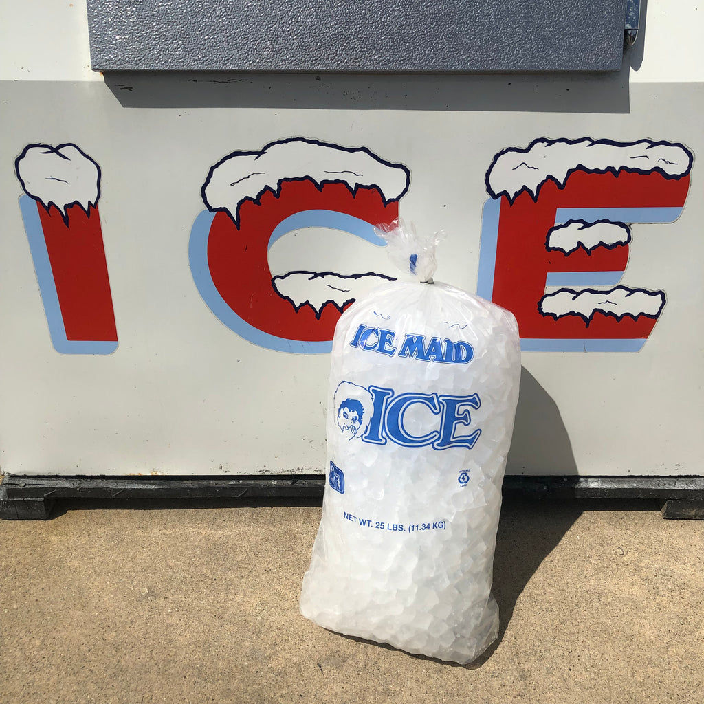 25 Lb. Pound Bag Of Ice