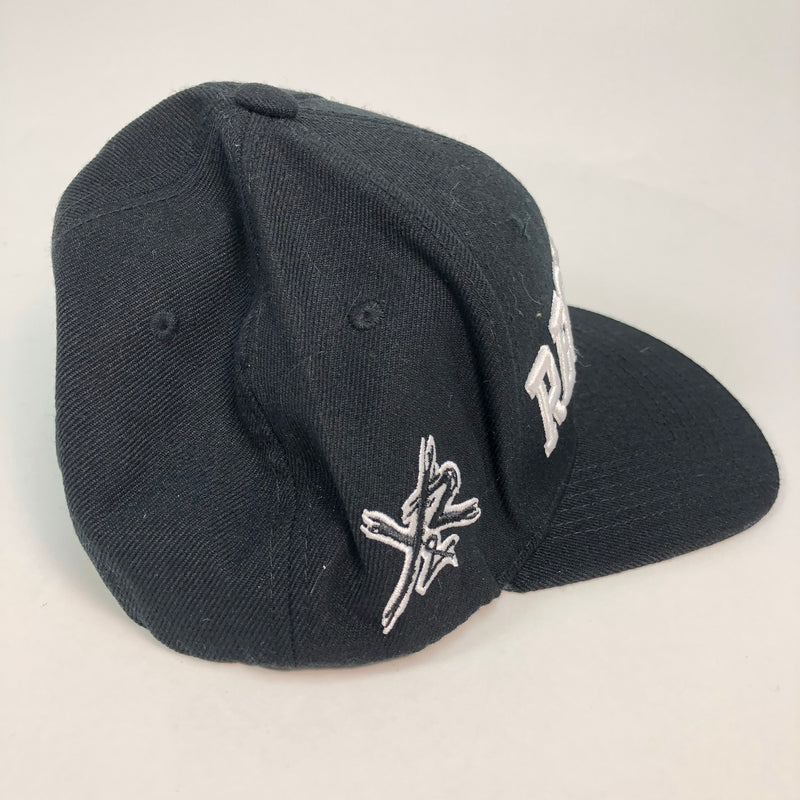 Young & Reckless Black Flat Bill Snapback Hat