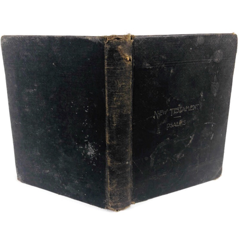 New Testament Psalms Black Vintage Bible Book