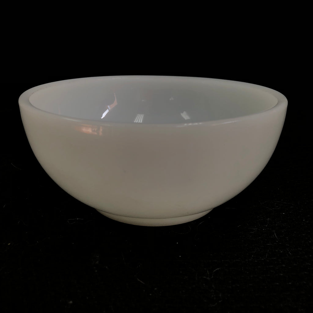"Fire King Oven Ware Milk White 5"" Soup Dessert Bowl"