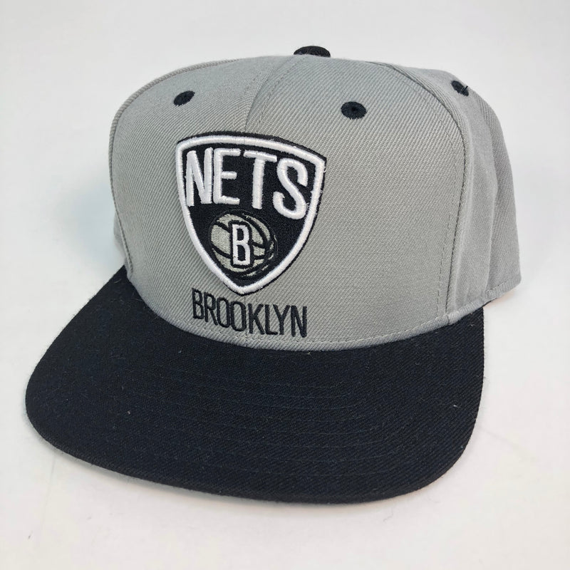 Brooklyn Nets Adidas Flat Bill Snapback Hat