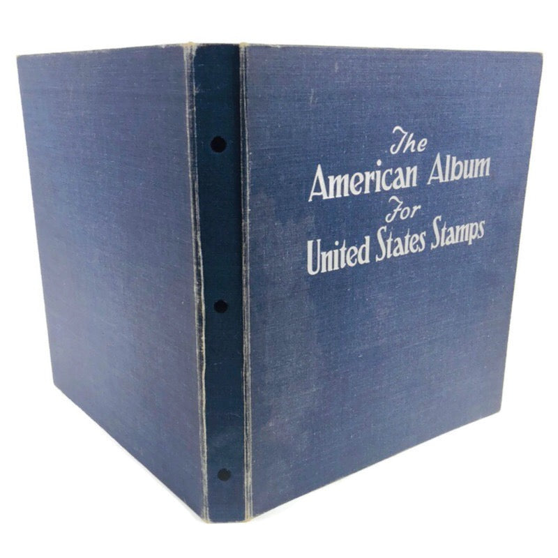The American Album For United States Stamps Book 1948 Edition