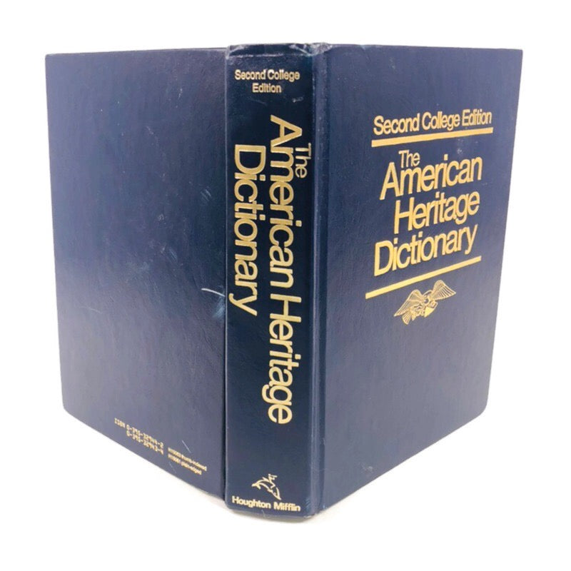 The American Heritage Dictionary Second College Edition 1985
