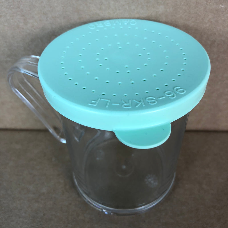 Cambro Salt/Pepper Shaker Green Lid 96-SKR-LF