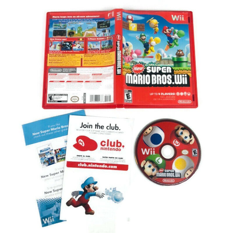 New Super Mario Bros Wii Nintendo Wii