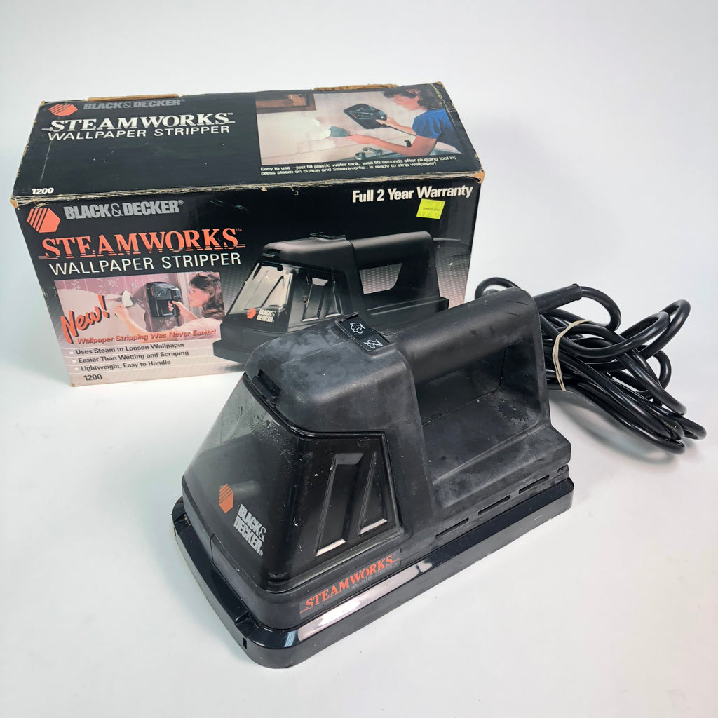 Black & Decker Steamworks 1200 Wallpaper Stripper w/ Box