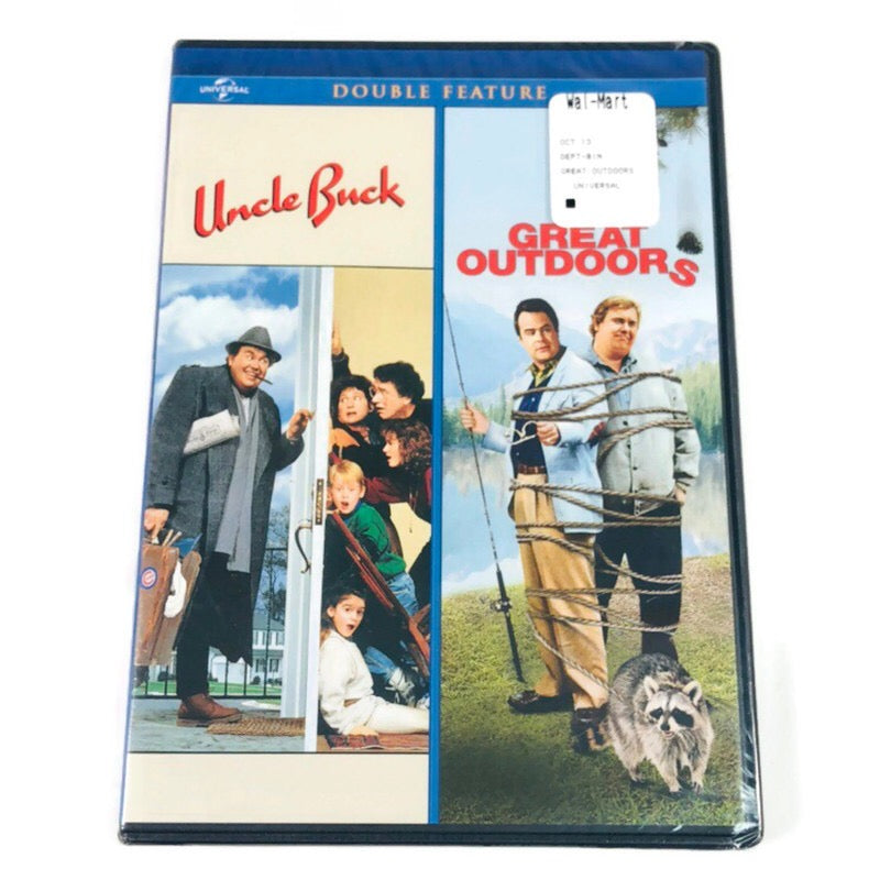 Uncle Buck + Great Outdoors Double Feature DVD