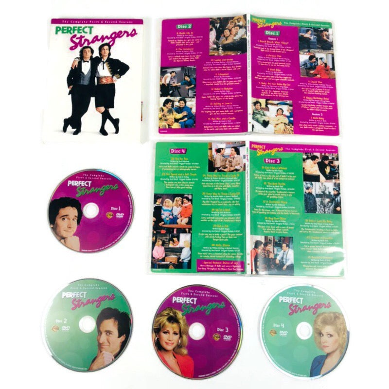 Perfect Strangers The Complete First & Second Seasons DVD
