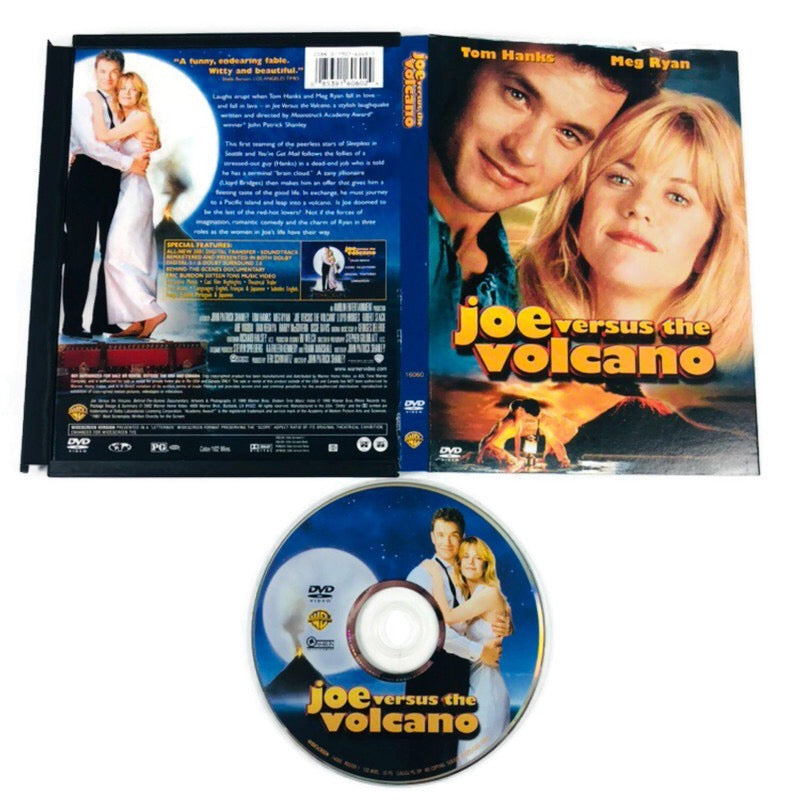 Joe Versus The Volcano DVD