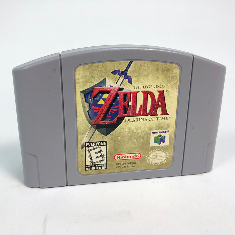 The Legend Of Zelda Ocarina Of Time Nintendo 64 N64 *Authentic*