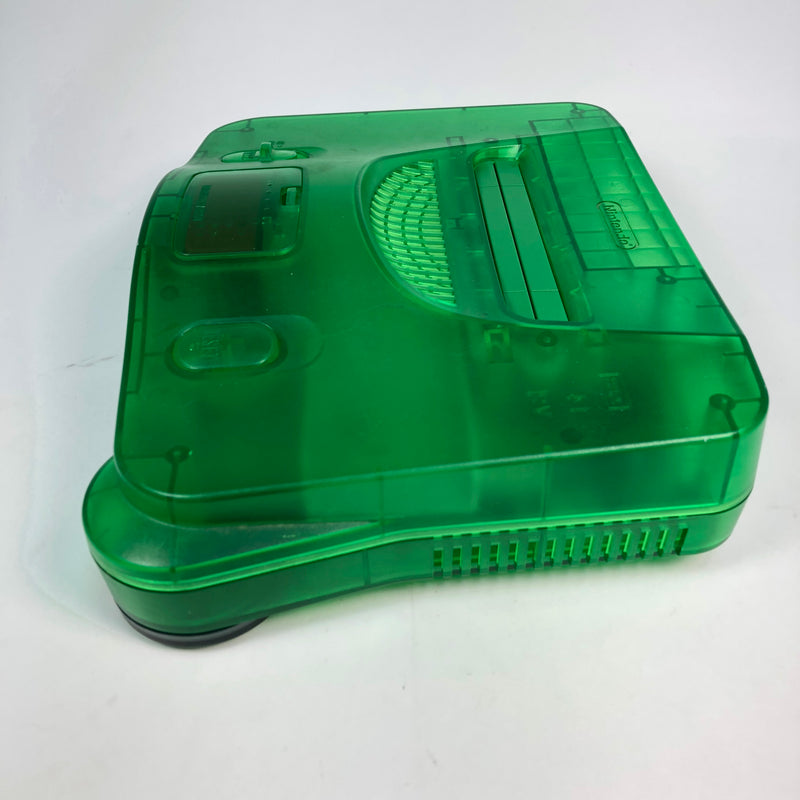 Jungle Green Nintendo 64 Console System + Expansion Pak