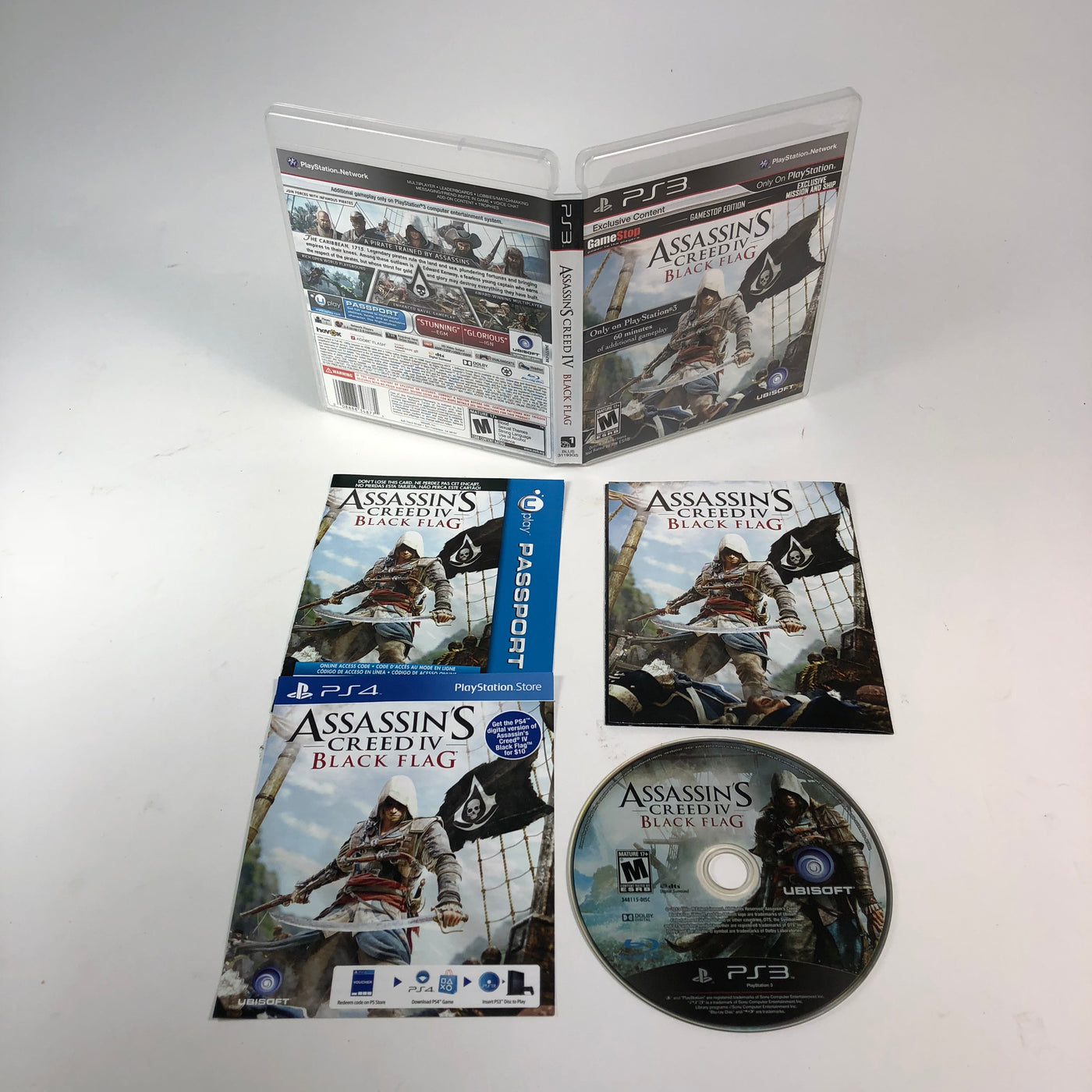 Assassins Creed Iv Black Flag Sony Playstation 3 Ps3 M15sales Com