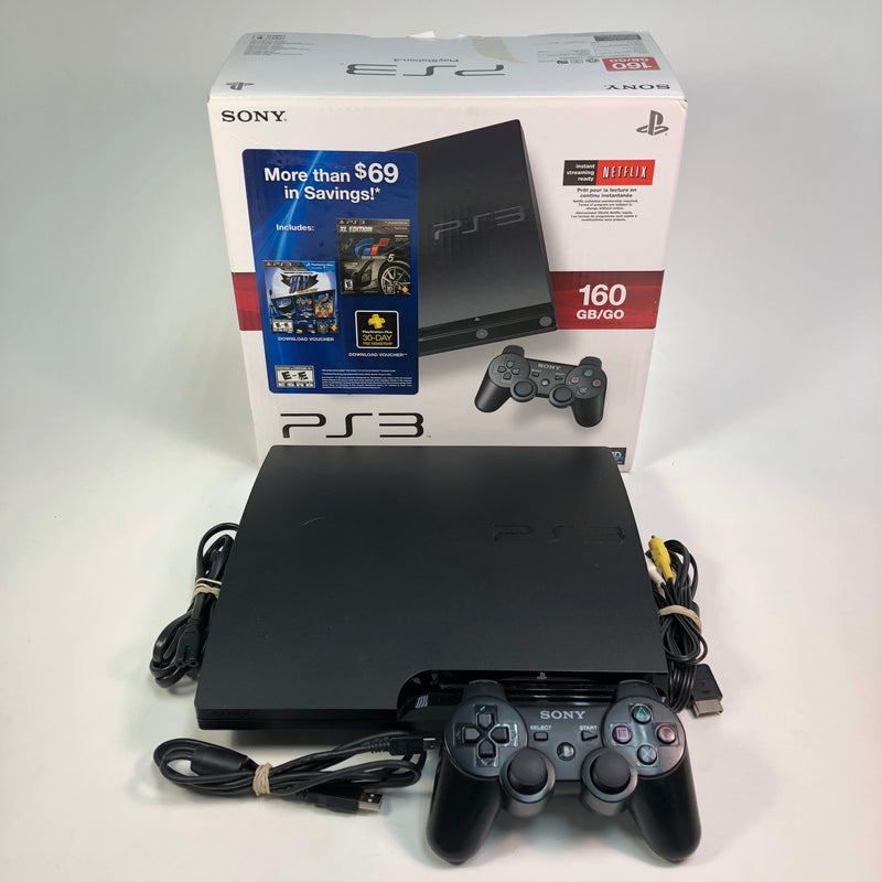 Sony Playstation 3 PS3 160 GB Console System CECH-3001A